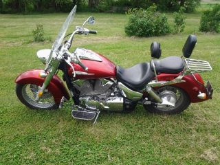 Candyapple Red 2003 Honda Vtx 1300s photo