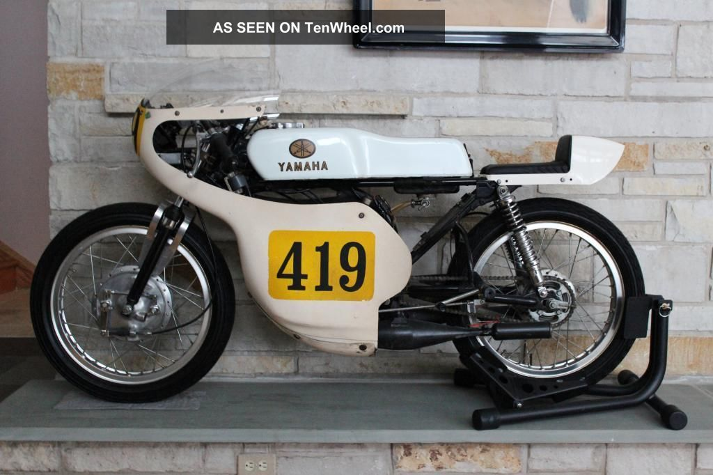 1974 Yamaha Ta125 Road Racer,  Completely And Stock,  Ahrma Ready Other photo