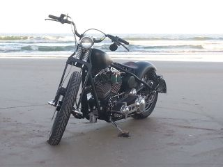 2010 Custom Built Bobber,  Matte Black photo