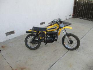 Vintage 1977 Yamaha Yz80,  Mx,  Ahrma,  Yellow Color,  Bike,  Take A Look photo