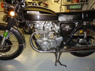1973 Honda Cb 450 photo