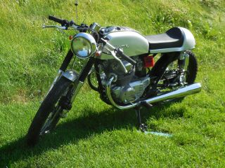 1975 Honda Cb200t Custom Cafe Vintage Motorcycle photo