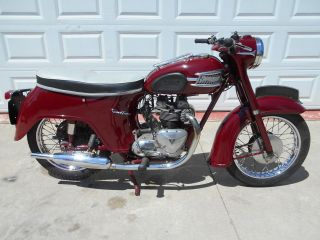 1960 Triumph Speed Twin, photo
