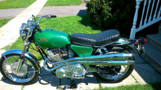 1969 Norton S Commado Scrambler Unrestored Beauty photo