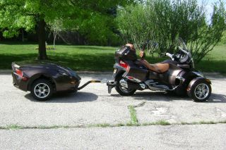 2012 Can Am Spyder Rt Limited Se5 With Matching Trailer photo