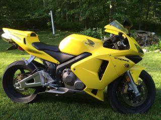 2003 Honda Cbr600rr Cbr 600 Rr photo