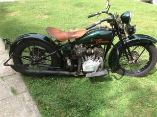 1930 Harley Davidson V Flathead 1200 photo