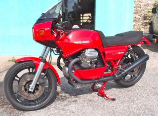 1980 Moto Guzzi Lemans Ii / Cx100 photo