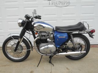 1970 Bsa Lightning photo