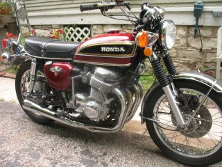 1976 Honda Cb750k photo