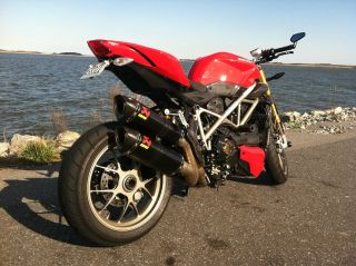 2010 Ducati Streetfighter S 1098 Red Carbon Ohlins Cbr R1 R6 Rr Bmw photo