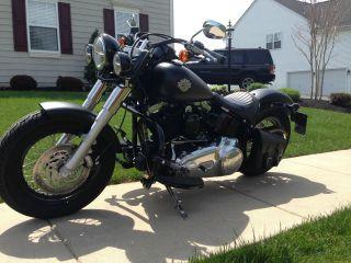 2013 Harley Davidson Slim Black Denim photo