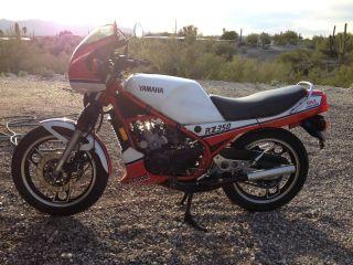 1984 Yamaha Rz350 photo