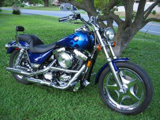 1999 Fxr3 Blue Flame Cvo Low Rider Fxr Fxlr photo