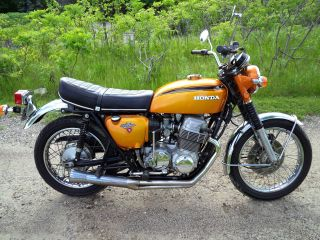 1971 Honda Cb750 K1 Classic / Paint ; Carefully Maintained photo