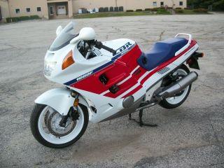 1990 Honda Cbr1000f Crb 1000 1000f Perfect Hurricane photo
