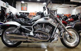 2003 Harley Davidson Vrod 100th Anniversary Edition Motorcycle Chromed photo
