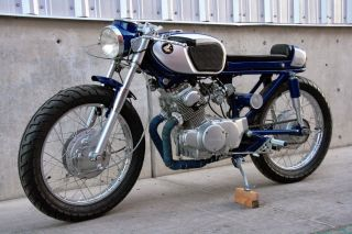 1965 Honda Cb160 Sport - Baby Hawk Cafe Racer Custom photo