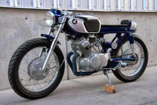 1965 Honda Cb160 Sport - Baby Hawk Cafe Racer Custom photo