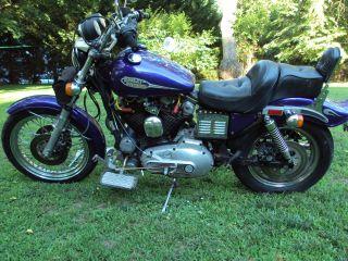 1982 Harley Davidson Xls Motorcycle photo