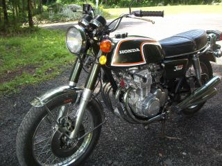 Honda Cb 350f 1973 photo
