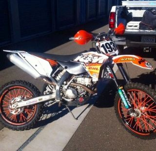 2008 Ktm 250xc - F Bored To Ktm 320xc - F photo