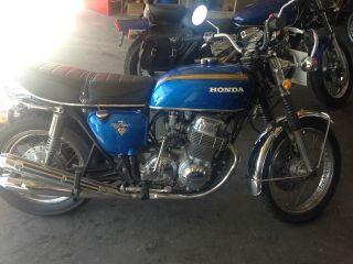 1972 Honda Cb750 photo
