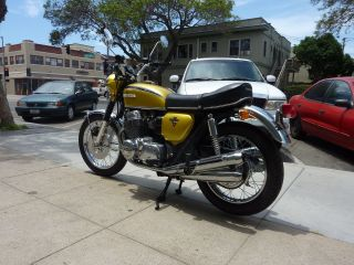 1971 Honda Cb750k California Beauty W / Oem Candy Gold Paint,  Wheels&more photo