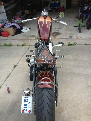 Custom Chopper / Bobber Titled As 2010.  Completed In Nov 2013 photo