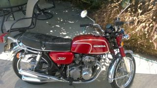 1973 Honda Cb350f Inline Four photo