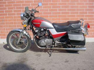 1983 Suzuki Gr650 Gr 650 Tempter Motorcycle photo