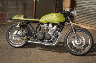 1982 Honda Cb750 Custom Cafe photo