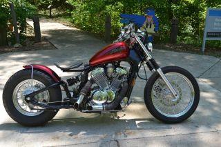 Honda Shadow 2007 Vlx600c Bobber Full Customized photo
