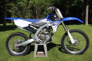 2014 Yamaha Yz250fel Yz 250f Moto X Motocross Dirtbike 4 Stroke photo