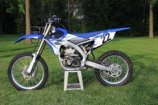 2014 Yamaha Yz450l Yz450fel Mx Motocross Dirtbike 4 - Stroke Yz 450 photo