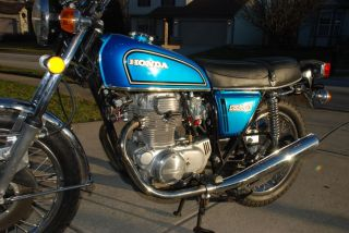 1976 Honda Cb360t Cb360 Cb 360 With Ohio Title photo
