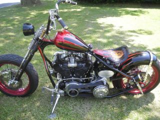 2006 Nyc Choppers Knucklehead Bobber photo
