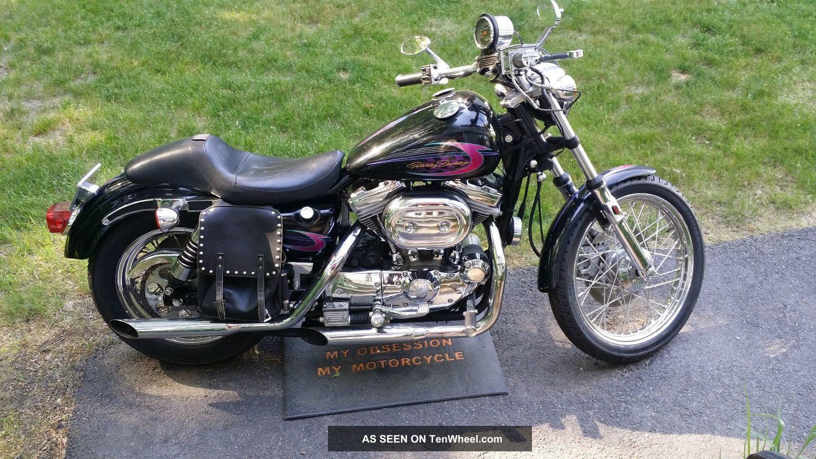 1986 Harley 883 / 1200 Custom Built & Paint By Jay Brakes