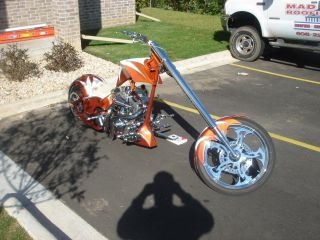 2005 Custom Handmade Skunkworx Chopper 300 Rear Tire photo