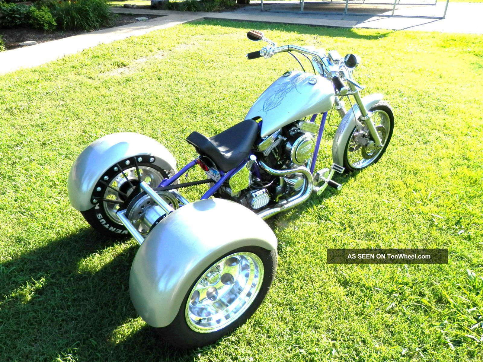 2004 Custom 3 Wheeler Chopper Trike (trade Custom Truck) Hot Rod Like Harley Other Makes photo