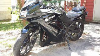 2009 Ninja 250r Black With Title photo