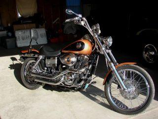 2008 Dyna Wide Glide,  105th Harley Fxdwg,  Harley Custom photo