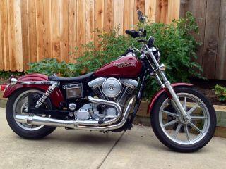 1995 Harley Davidson Dyna Lowrider Thunderheader Screamin Eagle Low Rider photo