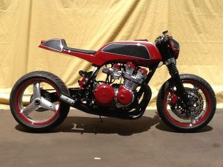 Honda Cb750 Cafe Racer 1981 Cb750 Custom Cafe photo