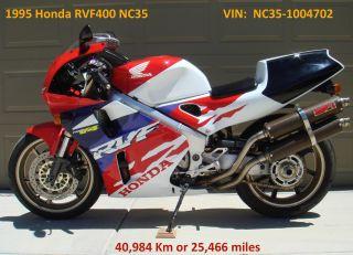1995 Honda Rvf400 Nc35 photo