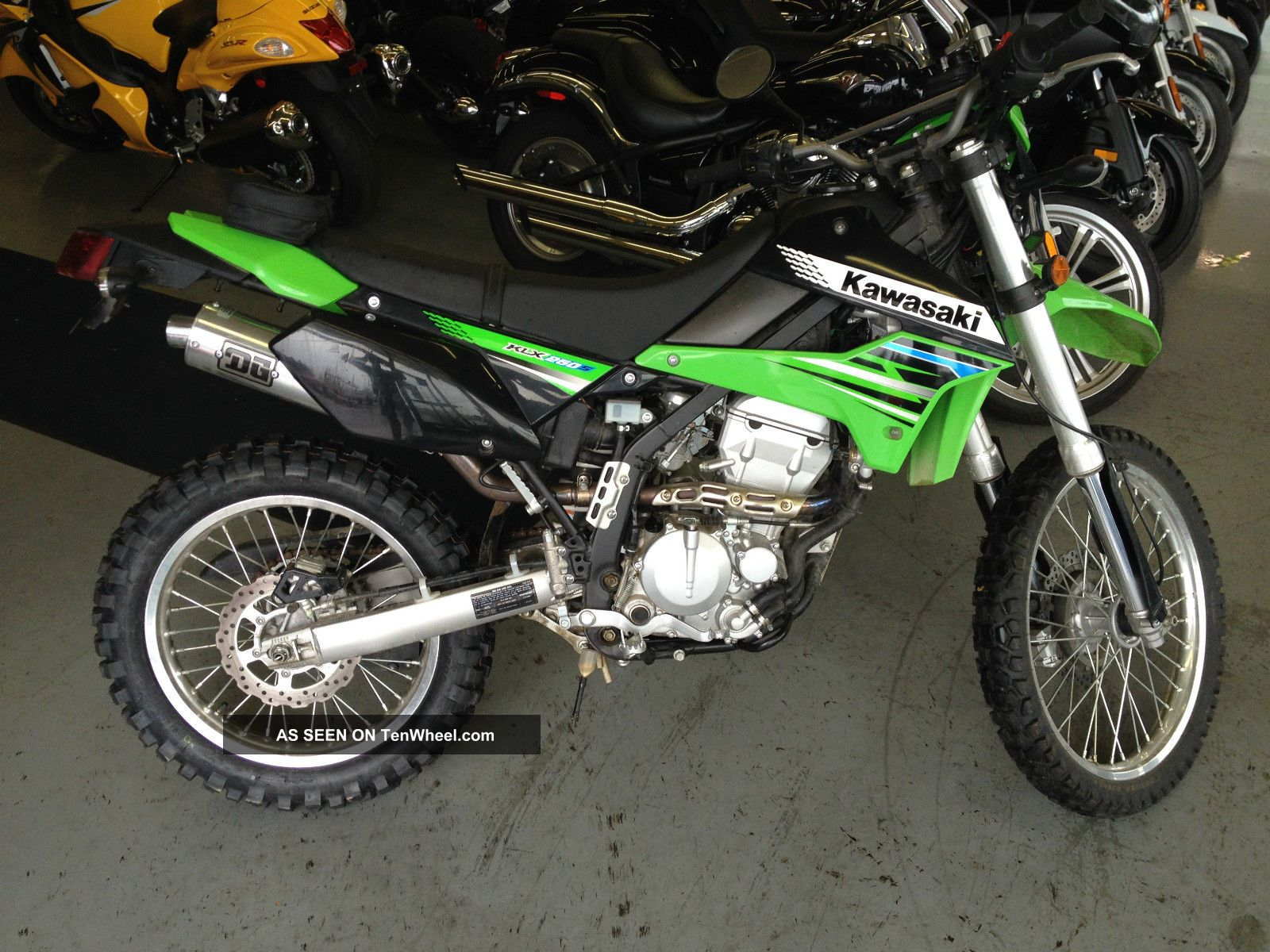 2012 kawasaki klx 250s 3 49 financing 61 monthly low insurance. Black Bedroom Furniture Sets. Home Design Ideas