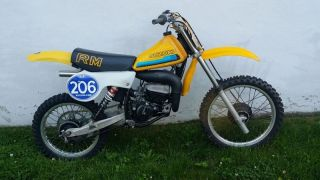 1980 Suzuki Rm 100 Race Resto Ahrma Tripes 100cc Works Revenge photo