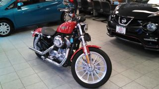 2010 Harley Davidson 883 Sportster Red Manual photo