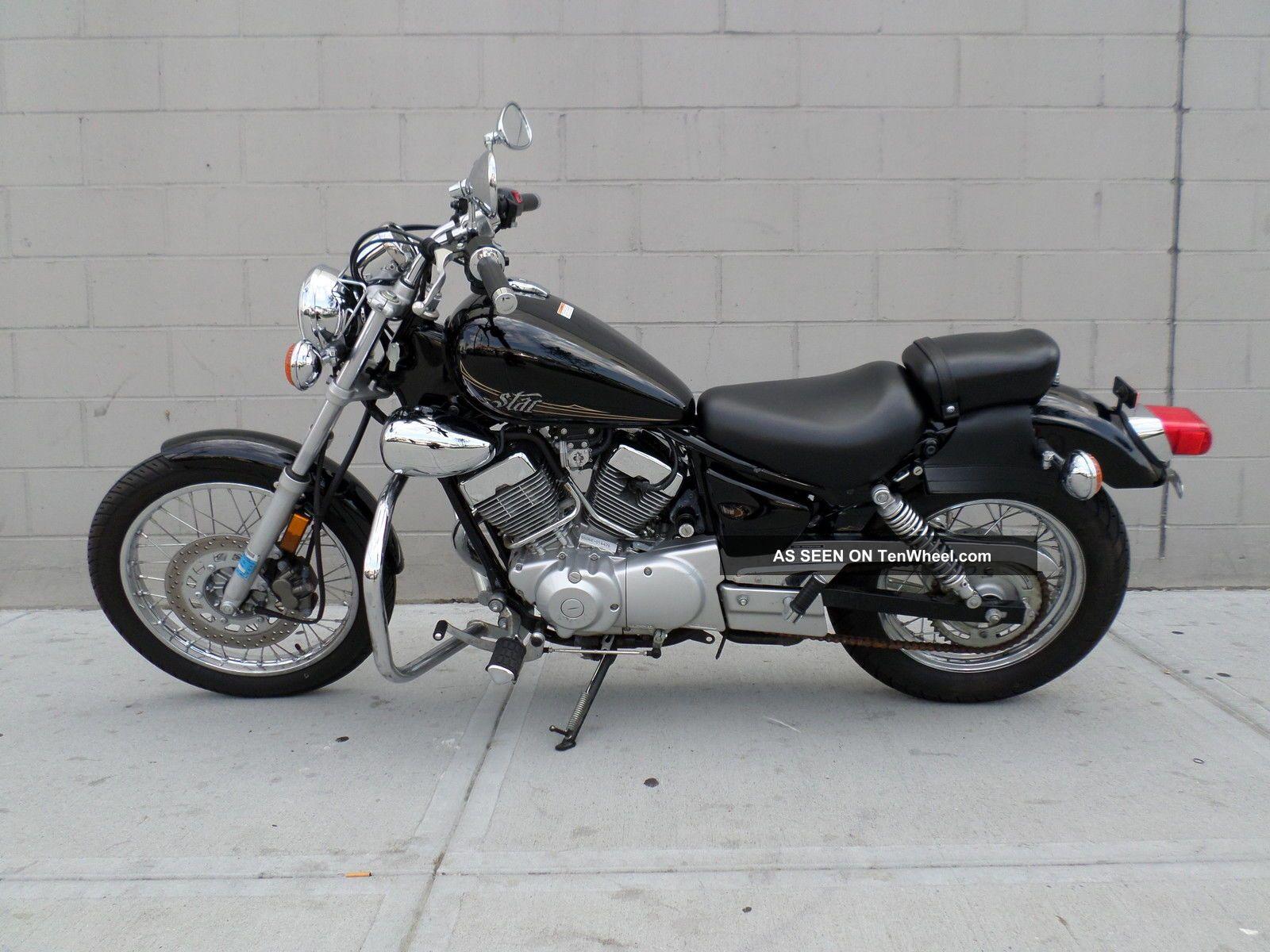 2012 yamaha v star 250 xv250 motorcycle