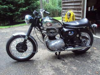 Bsa Royal Star A50 1967 photo